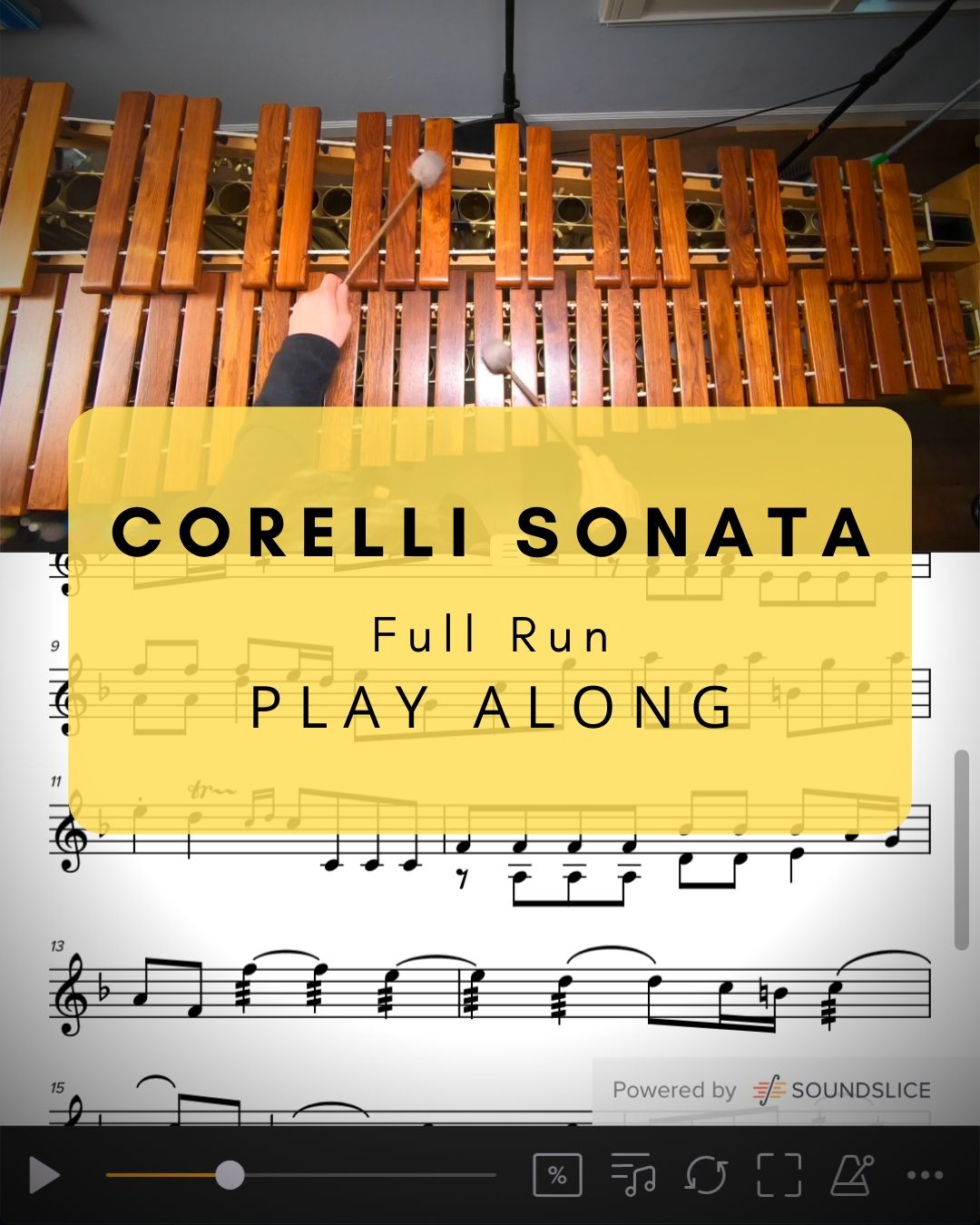 Corelli Sonata Full Run