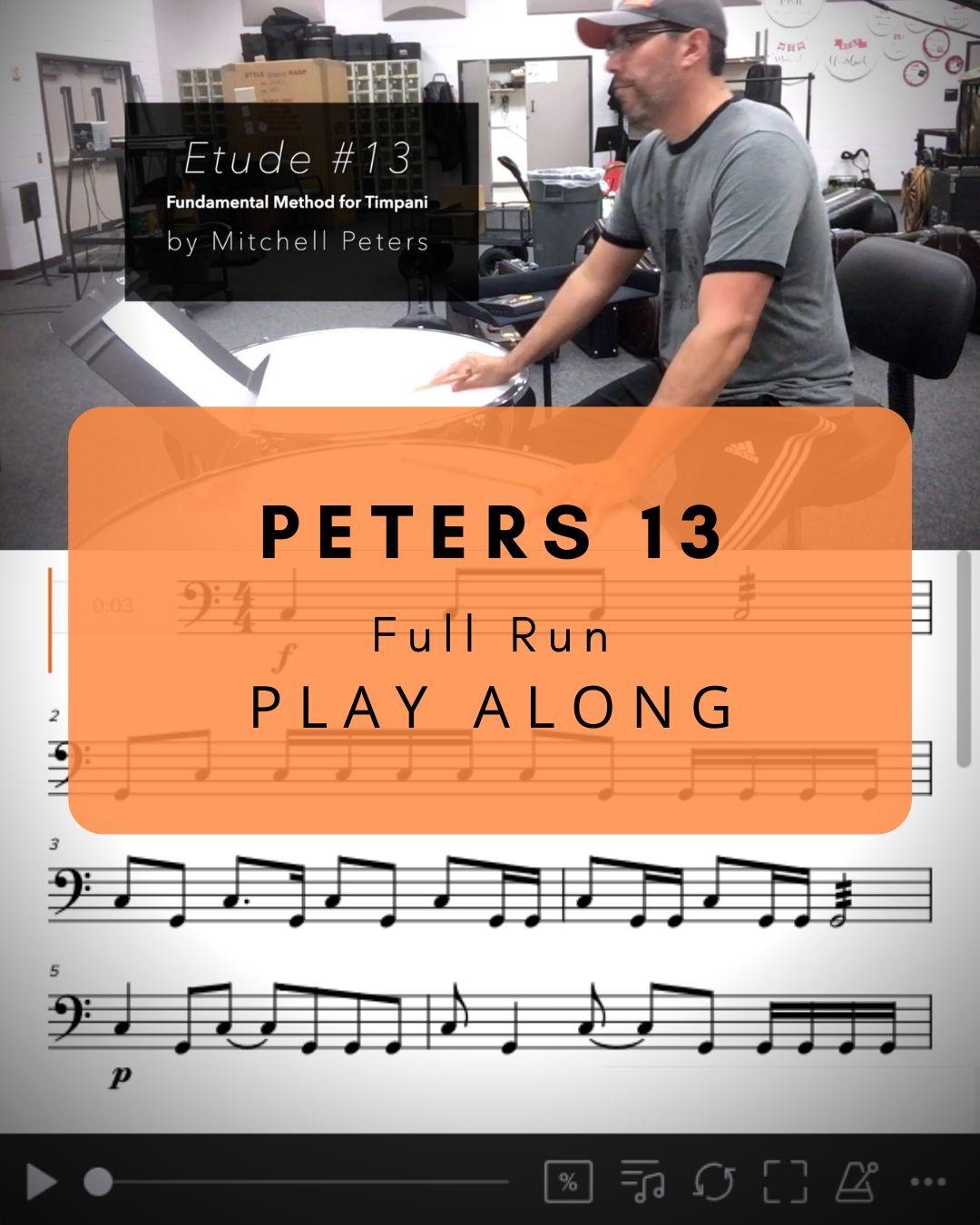 Peters 13 Full Run