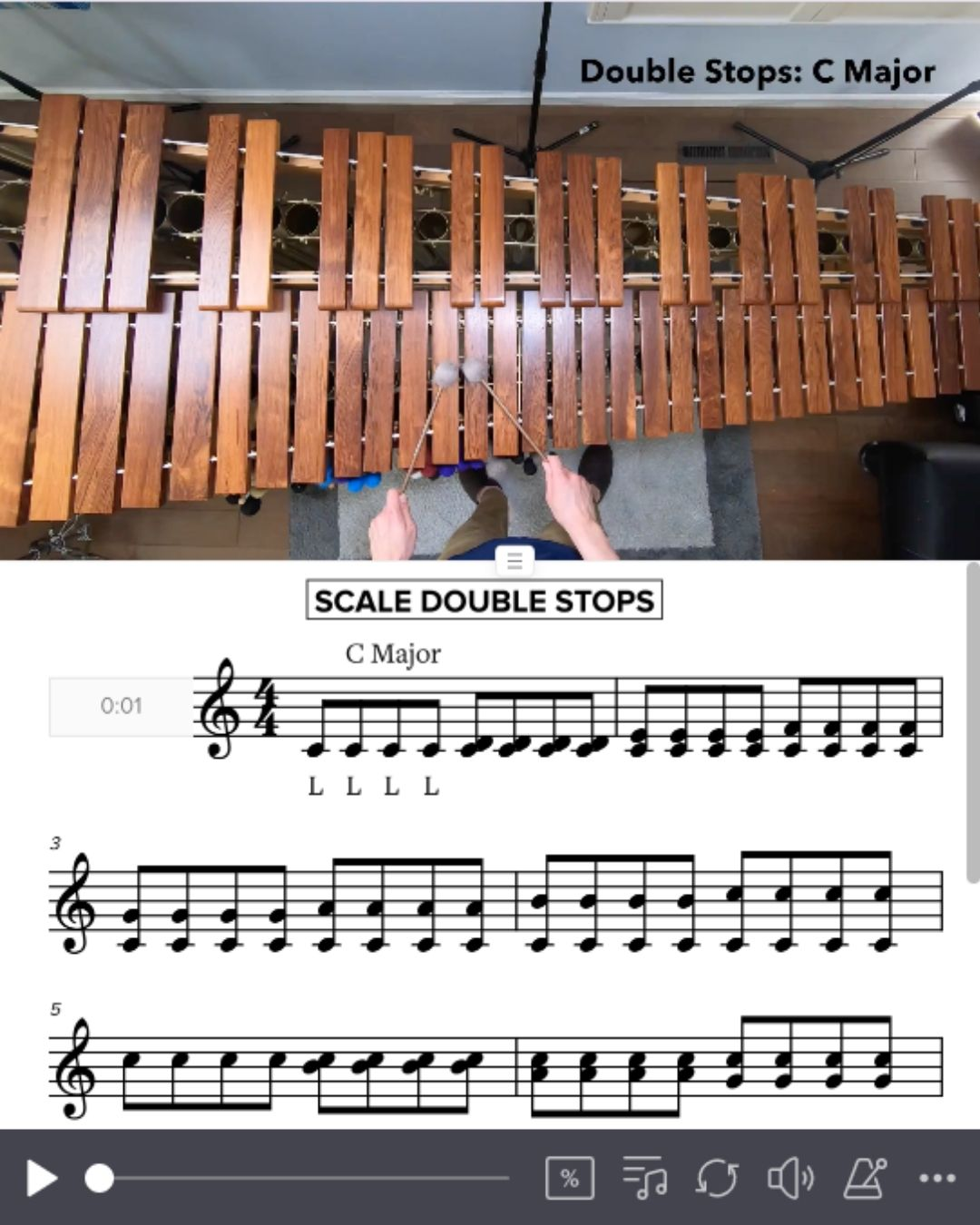 Scale Double Stops