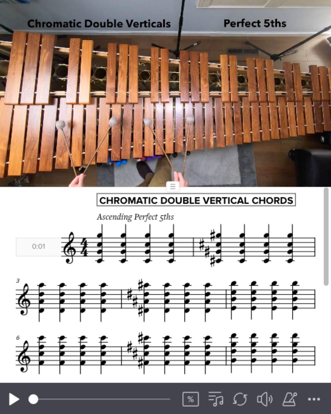 Chrom. DV Chords 5ths