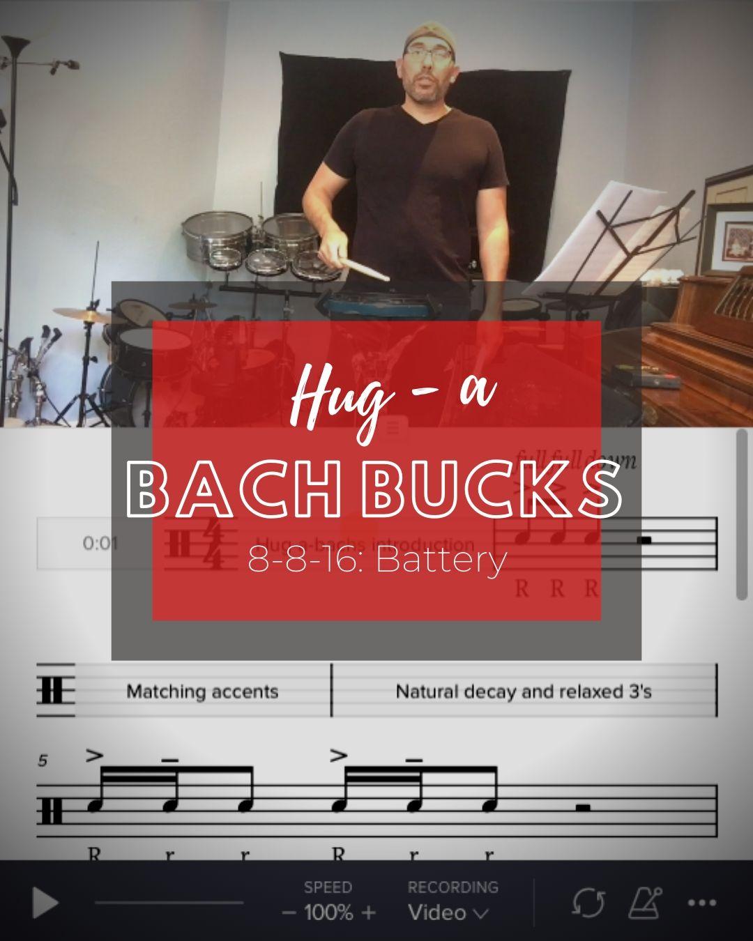 Hug-a-bachs & Bach-bucks