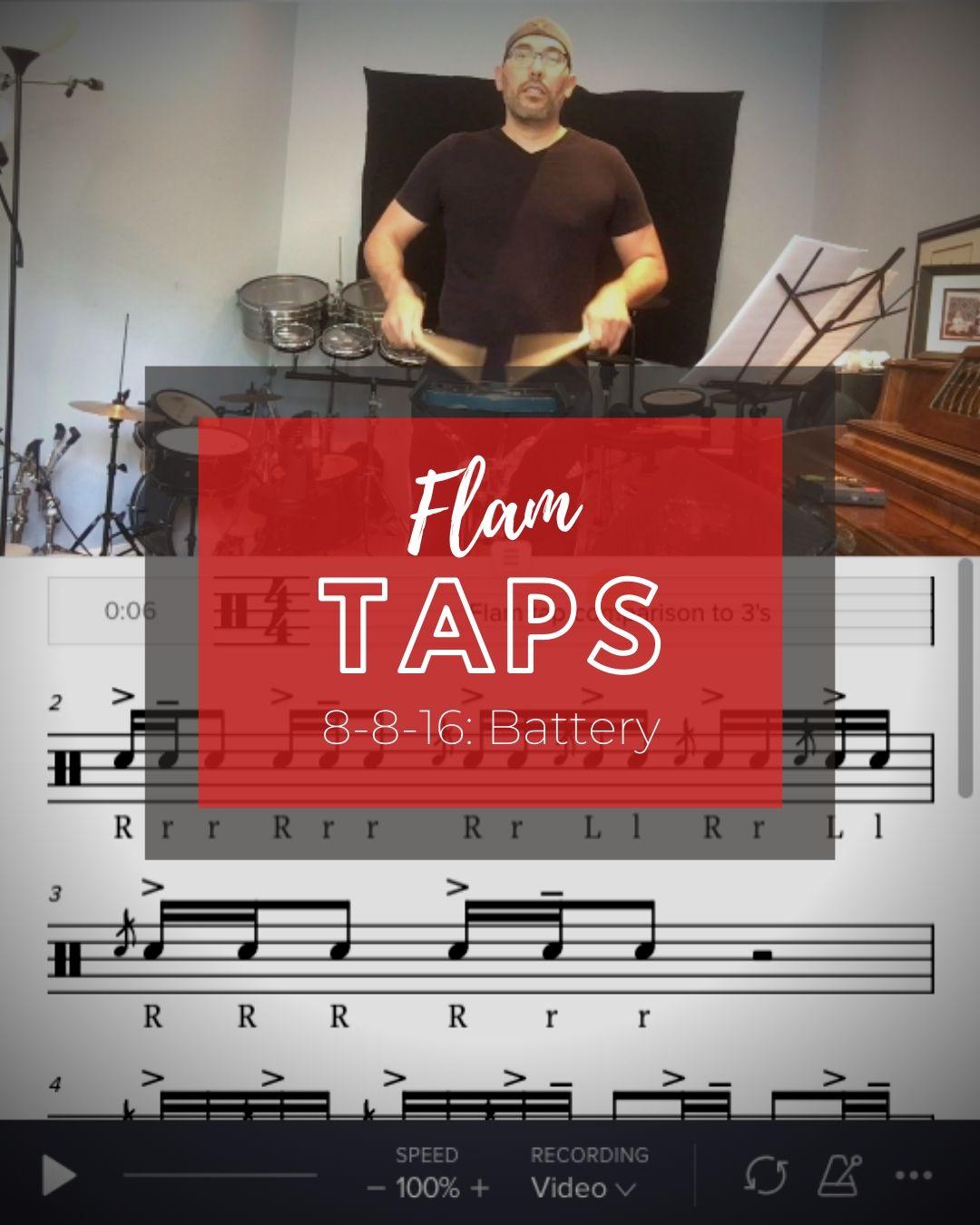Flam Taps