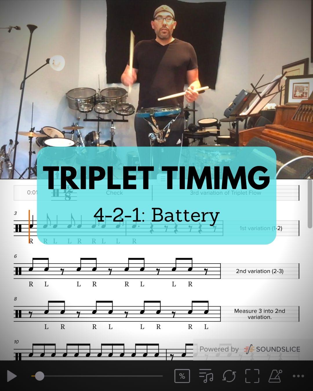 Triplet Timing