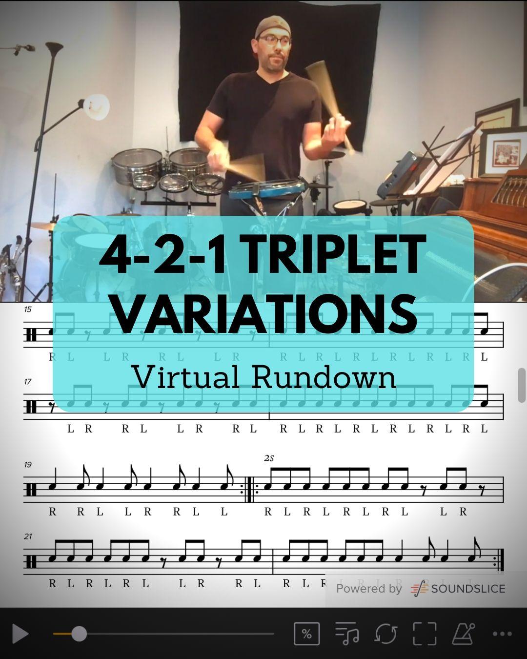 4-2-1 Triplet Variations