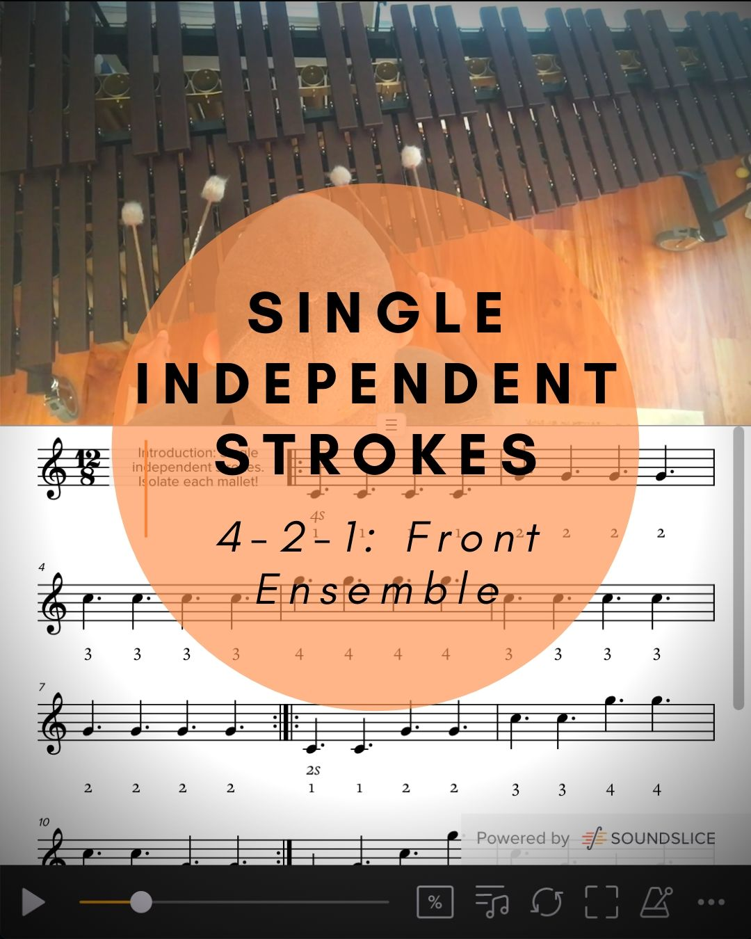 Single Independent Strokes