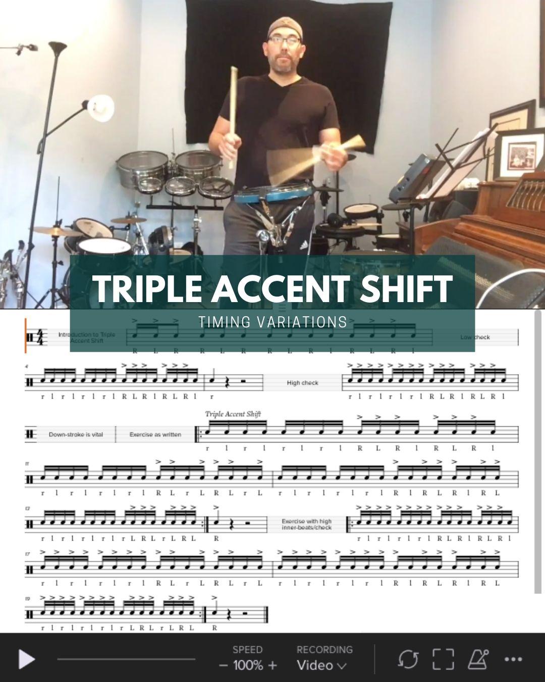 Triple Accent Shift