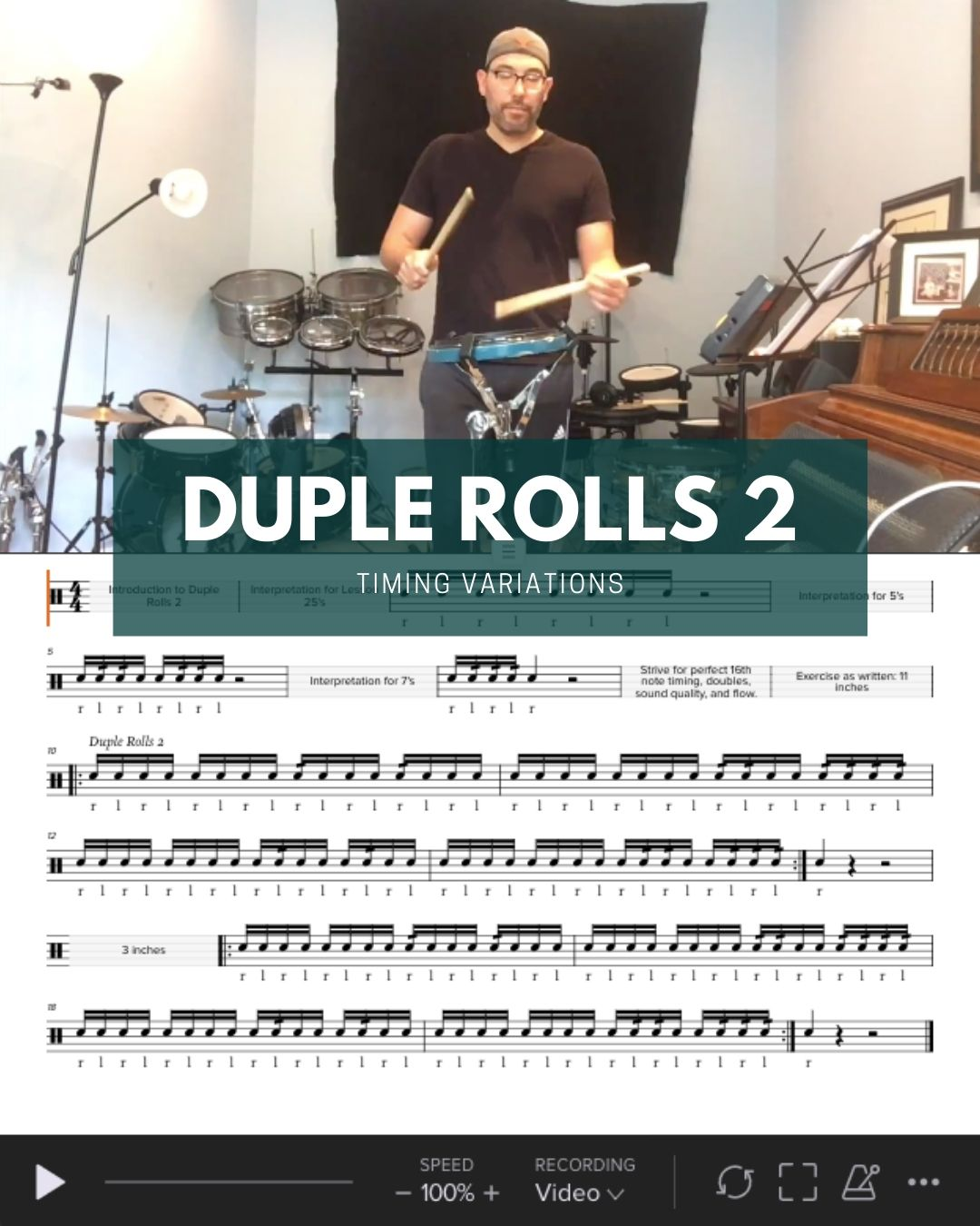 Duple Rolls 2