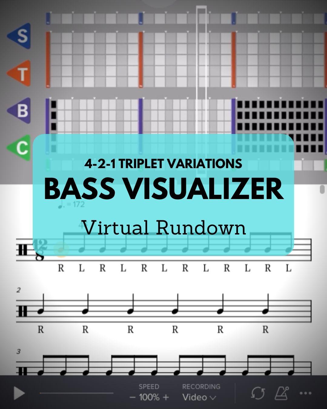 4-2-1 Bass Visualizer