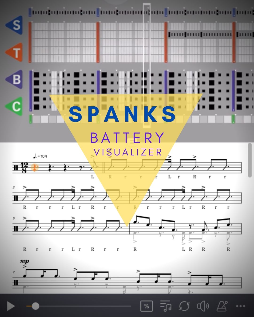 Spanks Bass Visualizer