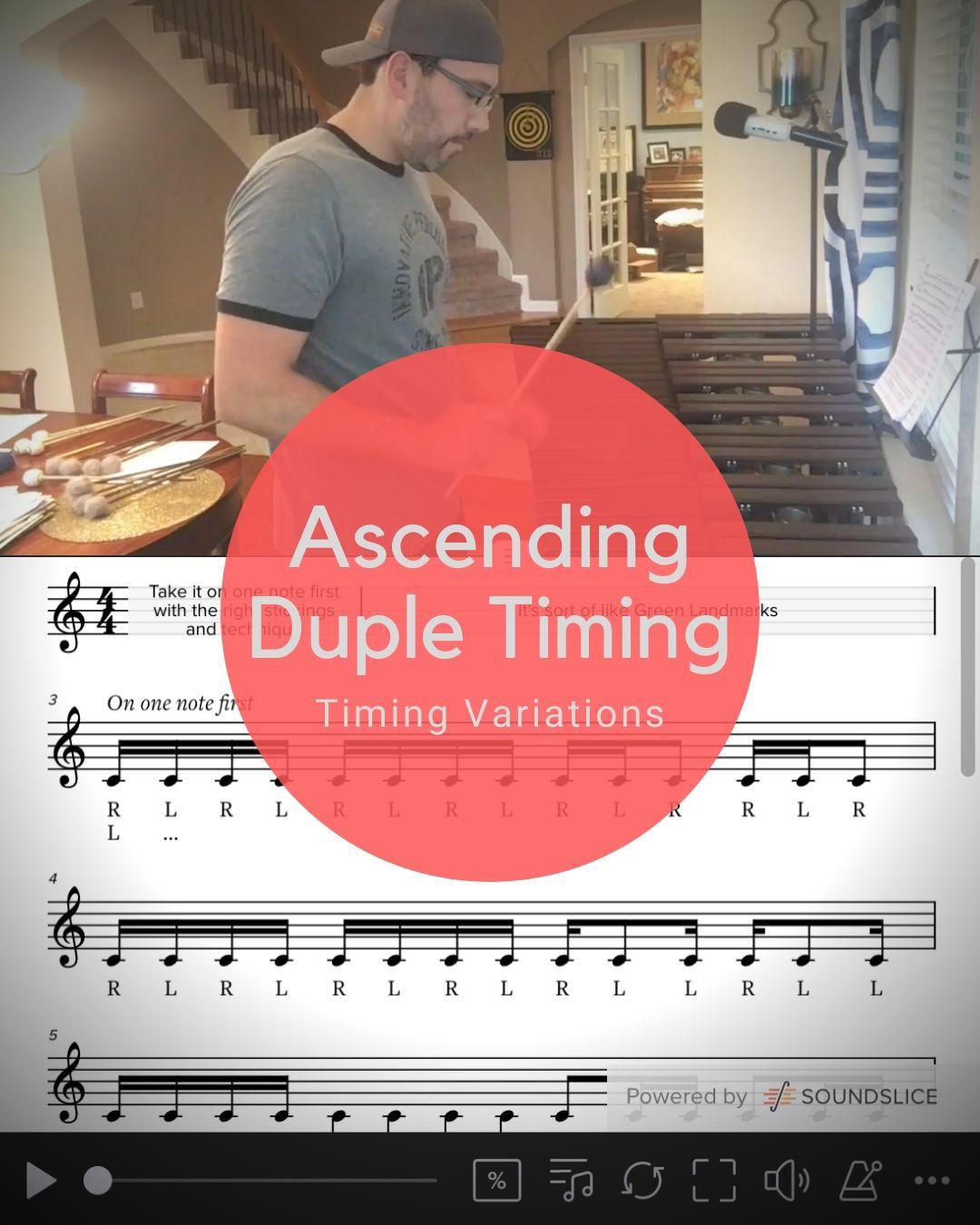 Ascending Duple Timing