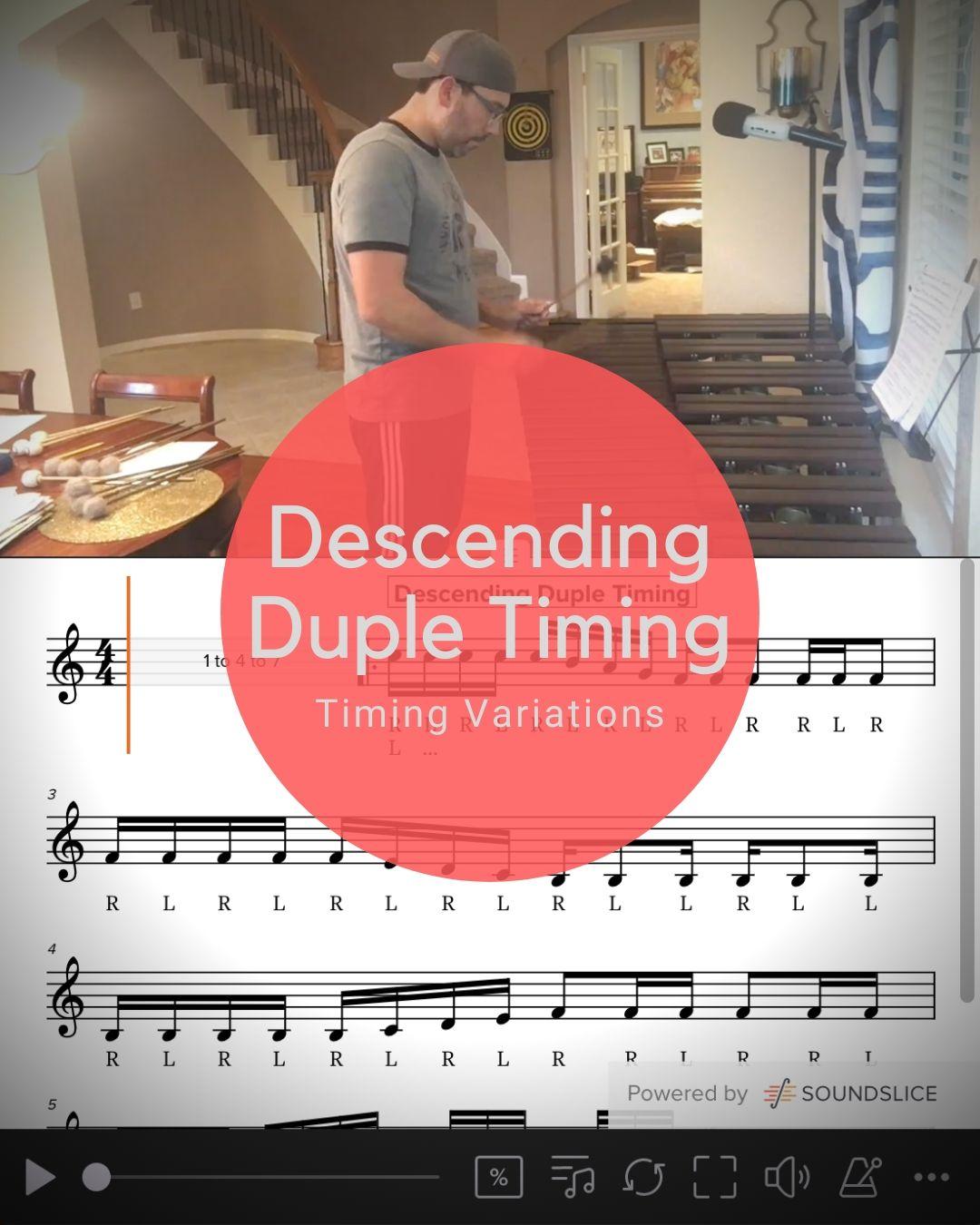 Descending Duple Timing