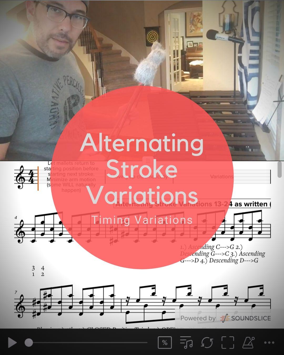 Alternating Stroke Variations