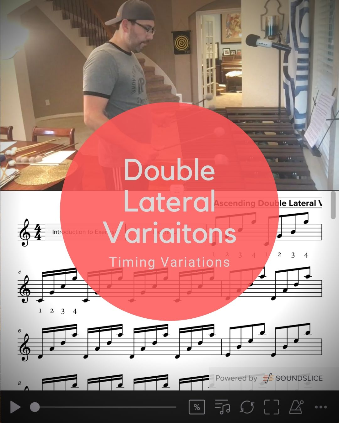 Double Lateral Variations