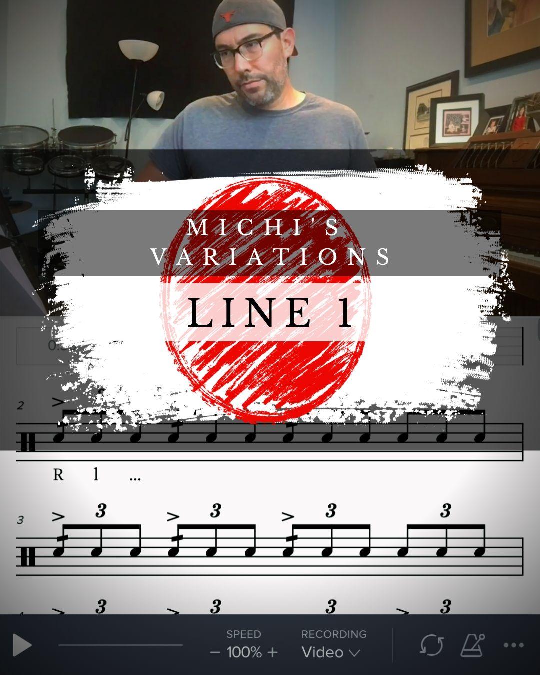Michi's Variations Line 1