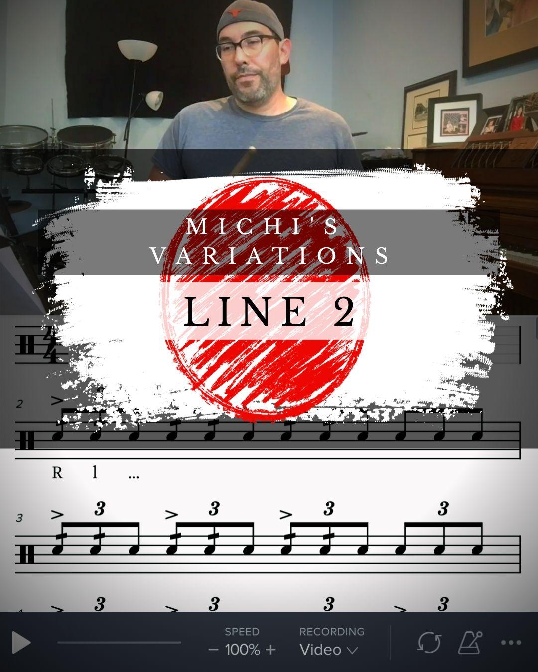 Michi's Variations Line 2