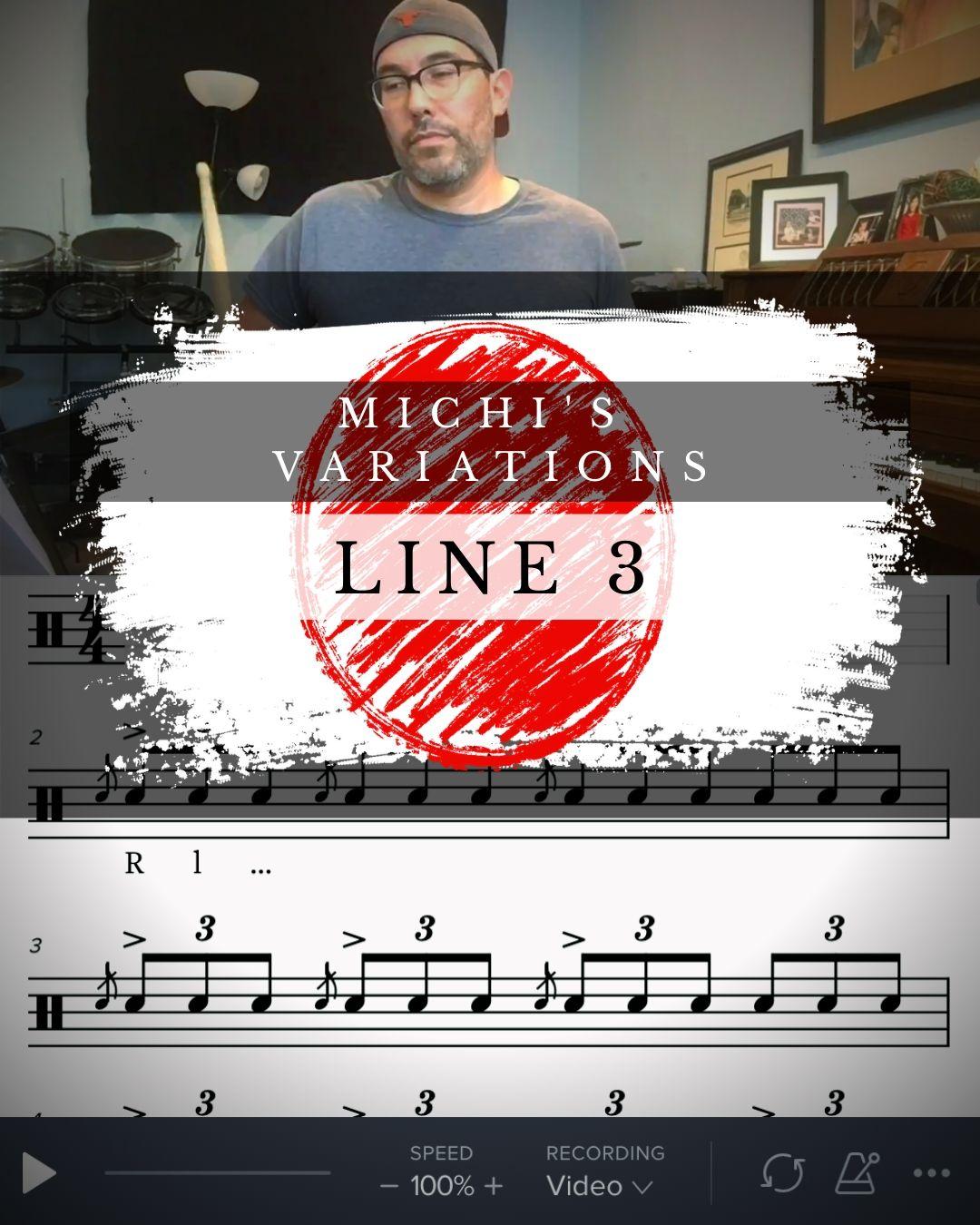 Michi's Variations Line 3