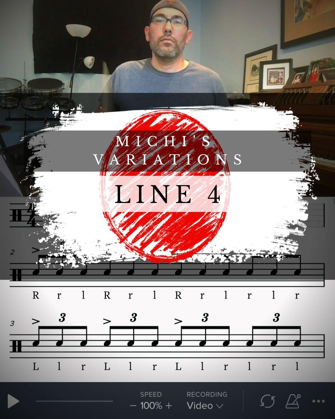 Michi's Variations Line 4