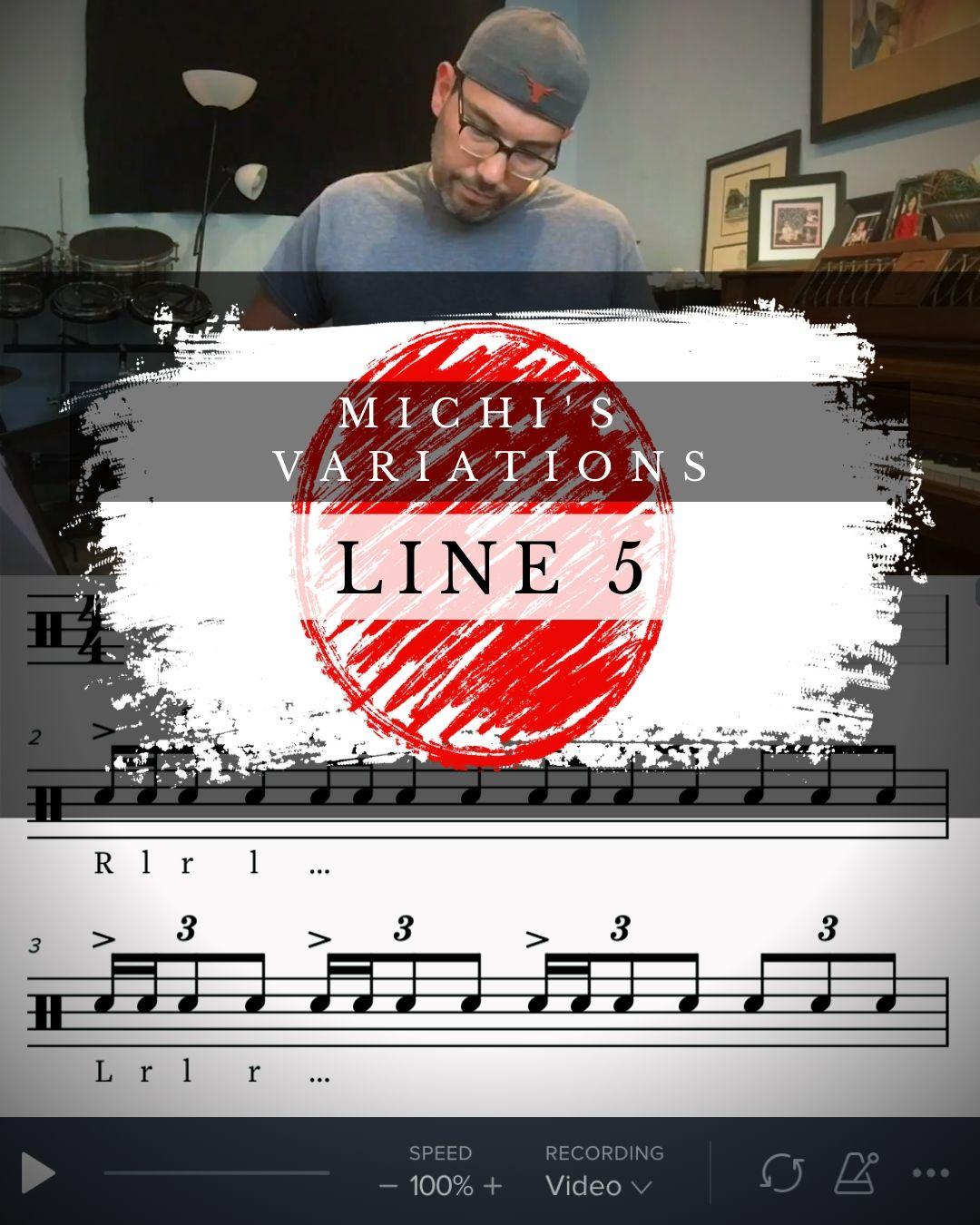 Michi's Variations Line 5