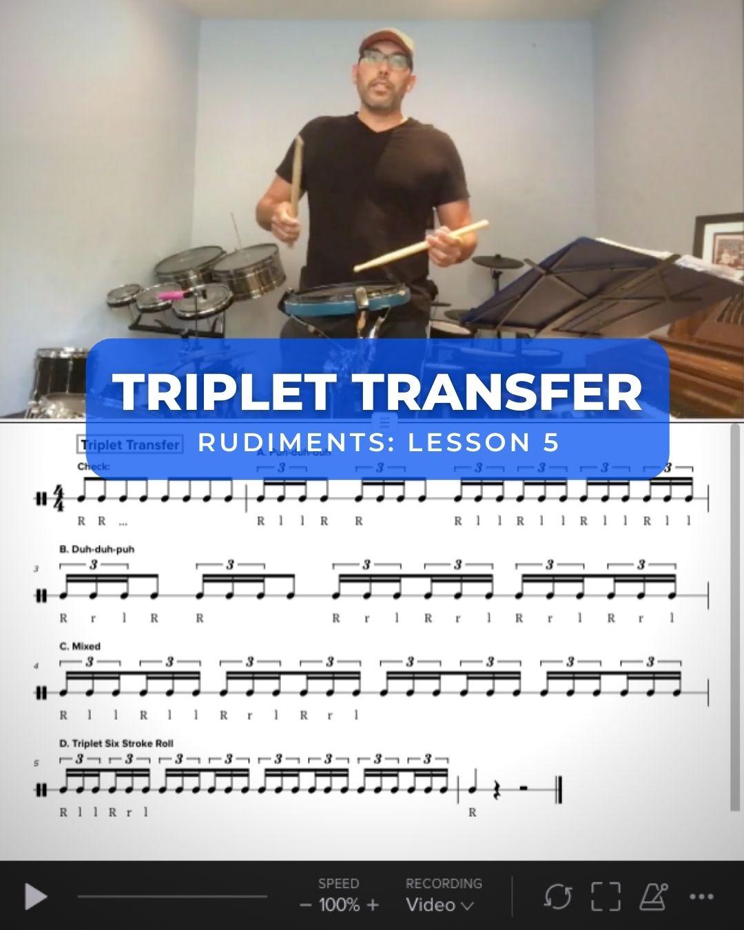 Triplet Transfer