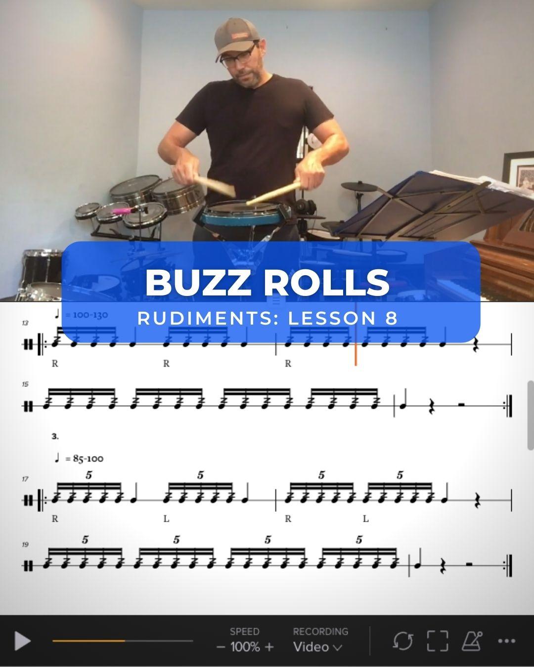 Buzz Roll Breakdown