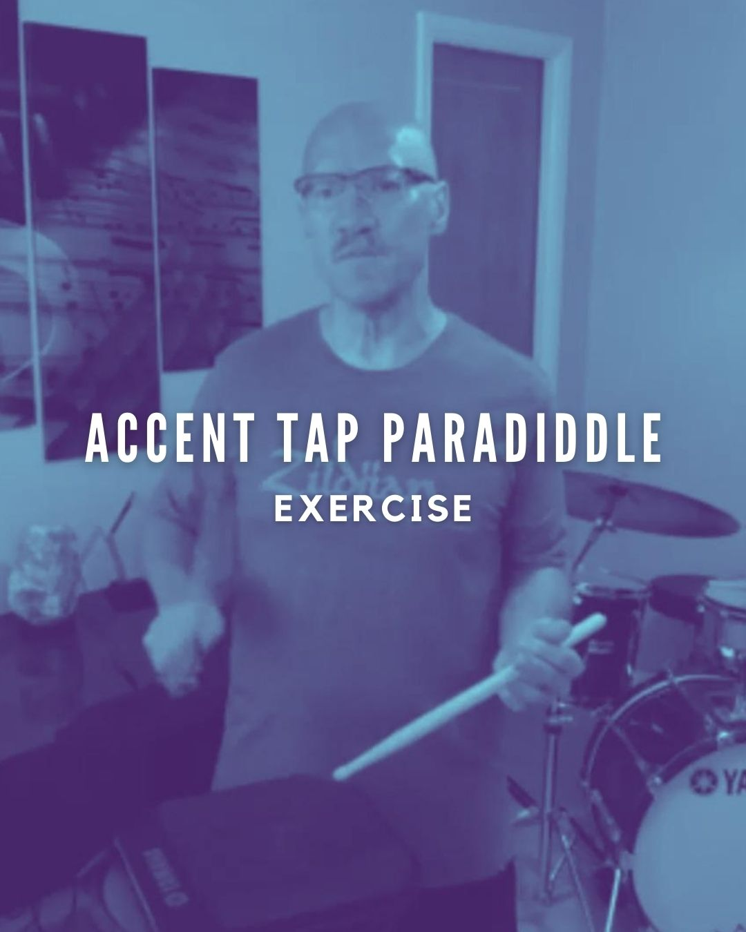 Accent Tap Paradiddle