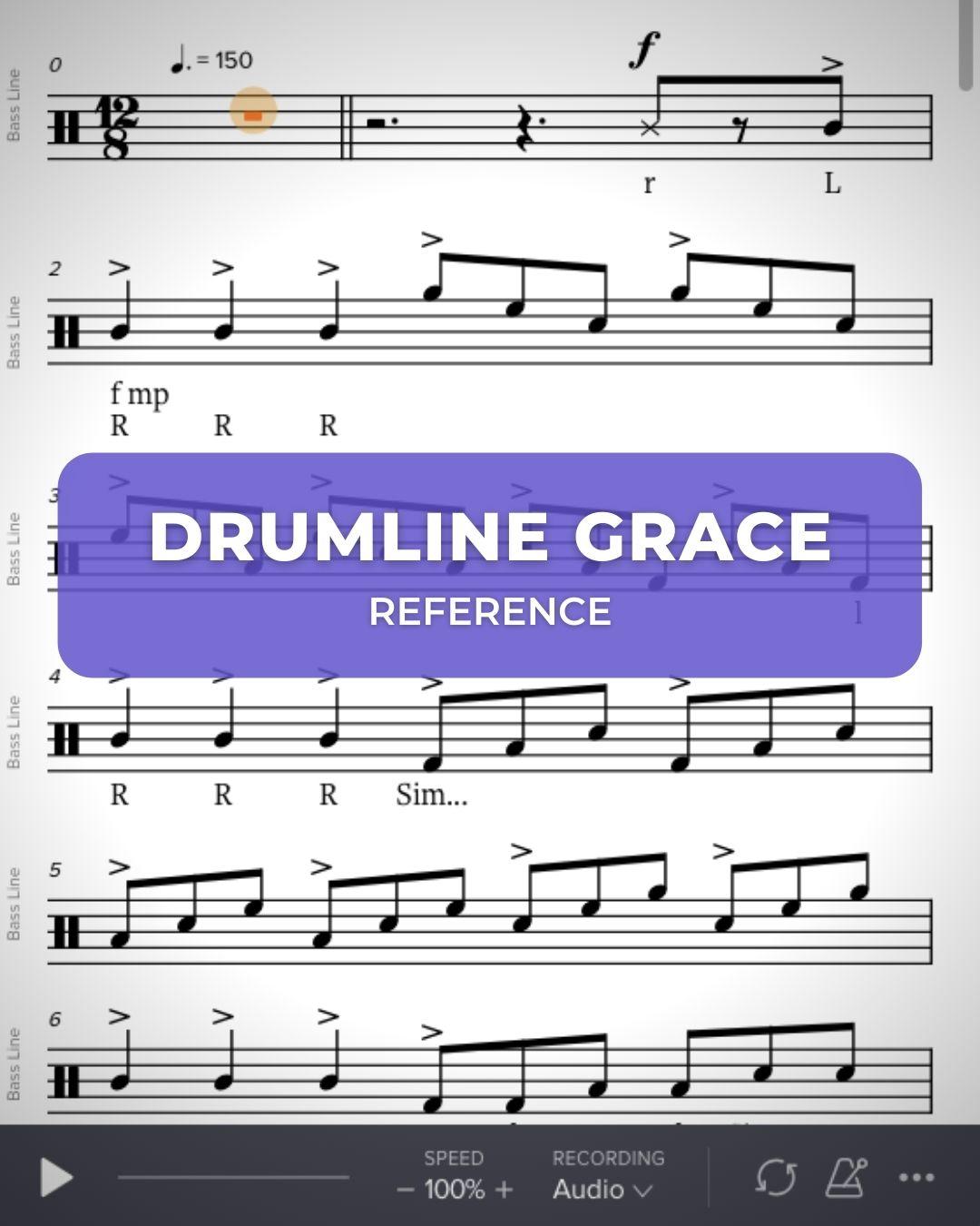 Drumline Grace