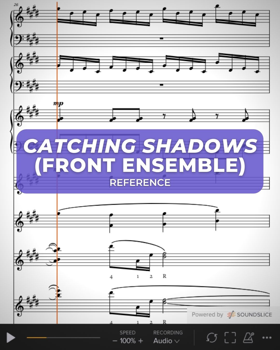 Catching Shadows Front Ensemble
