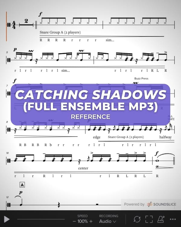 Catching Shadows Battery (Full Ens MP3)