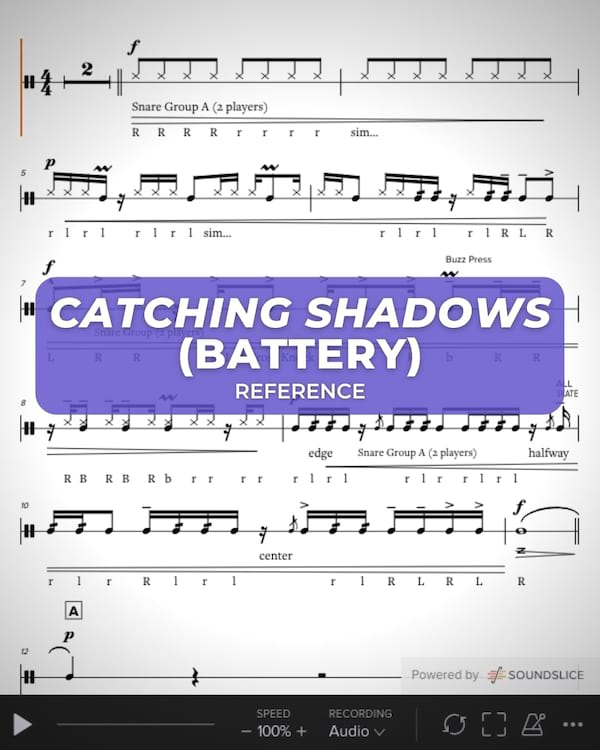 Catching Shadows Battery