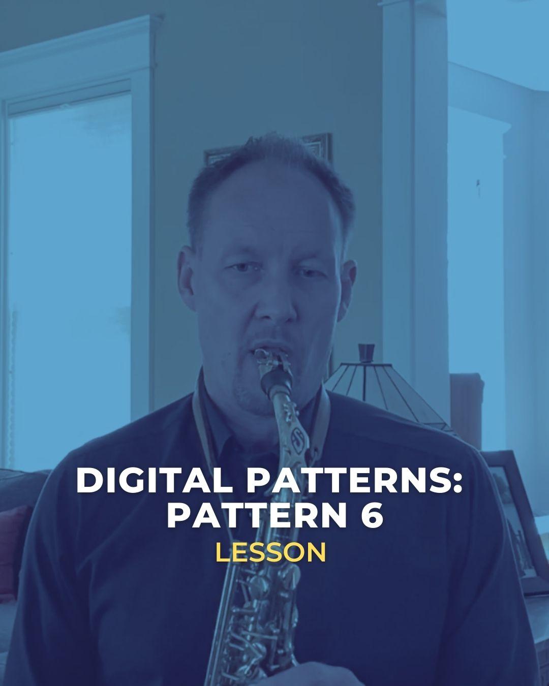 Digital Pattern 6