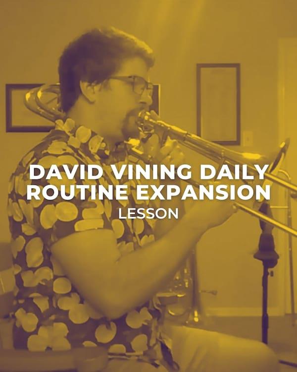 David Vining Daily Routine Expansion