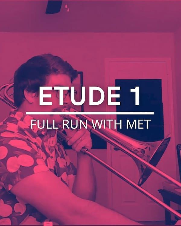 Etude 1 Full Run with met