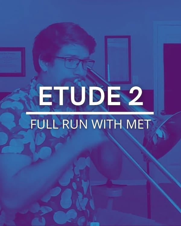 Etude 2 Full Run with met