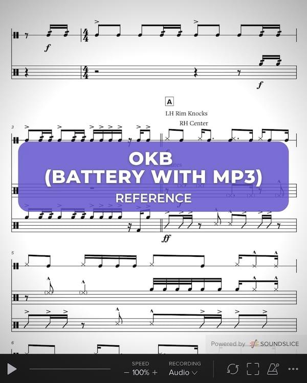 OKB Battery with MP3