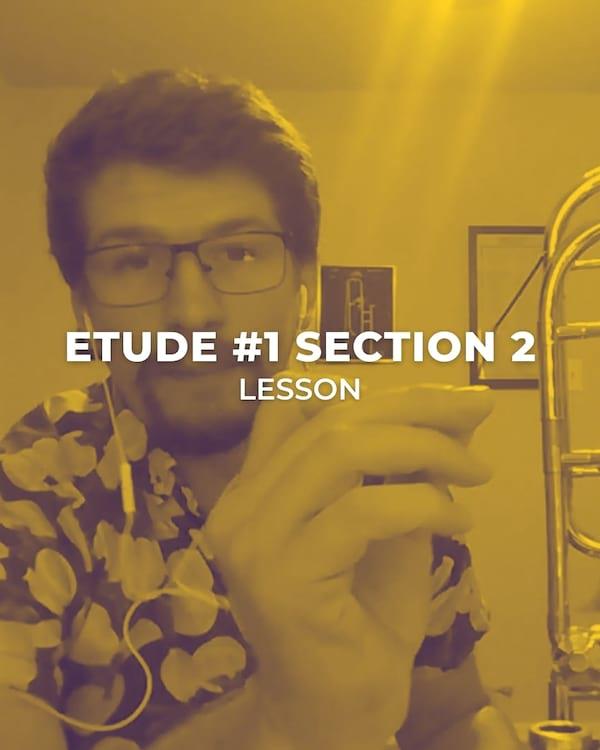 Etude #1 Section 2