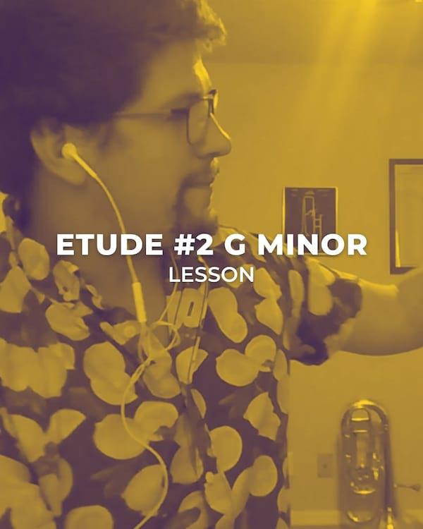 Etude #2 G Minor