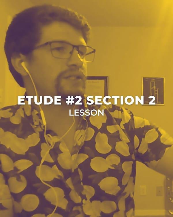 Etude #2 Section 2