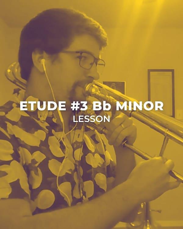 Etude #3 B Flat Minor