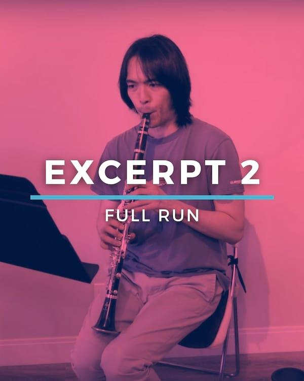 Excerpt 2 Full Run
