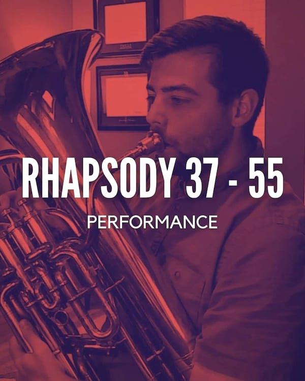 Rhapsody 37-55