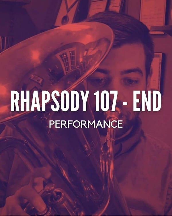 Rhapsody 107-end