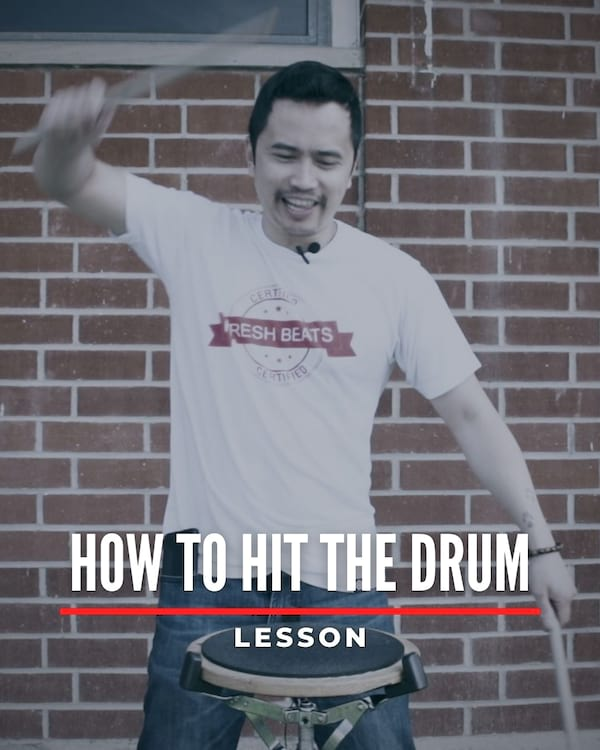 How To Hit The Drum