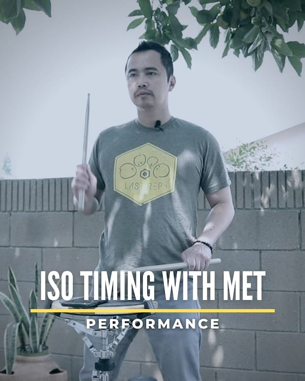Iso Timing with Met