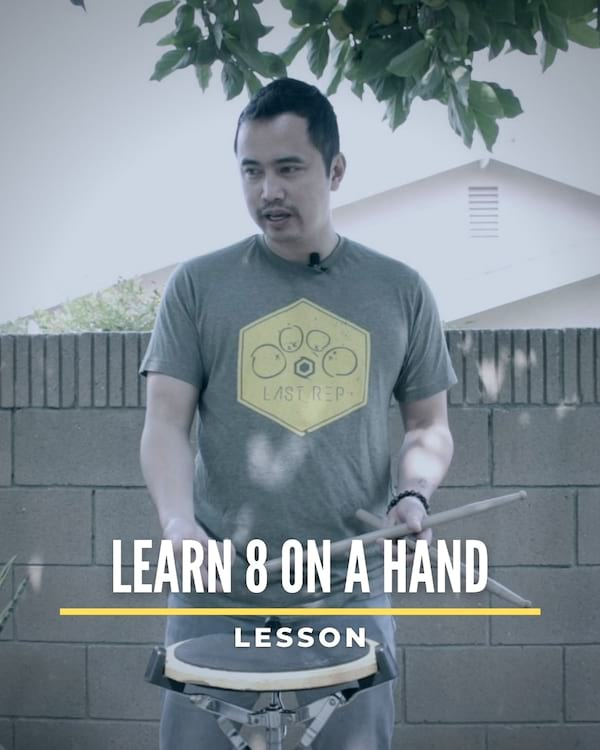 Learn 8 on a Hand
