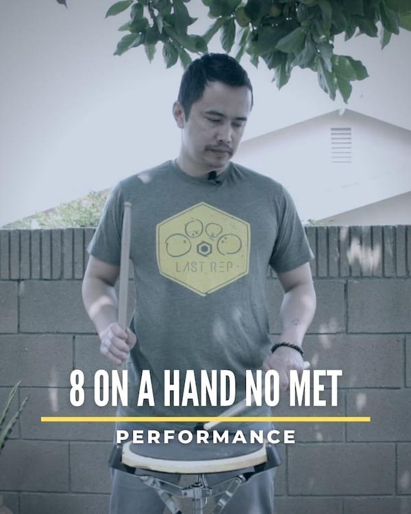8 on a Hand No Met