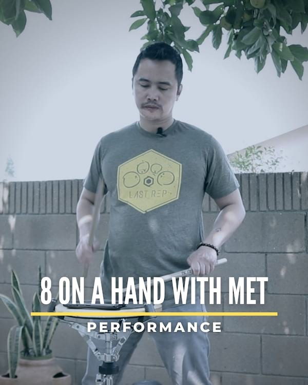 8 on a Hand with Met