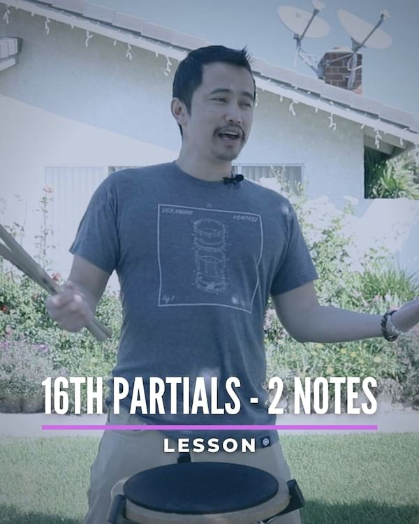 Learn 16th Partials 2 Note