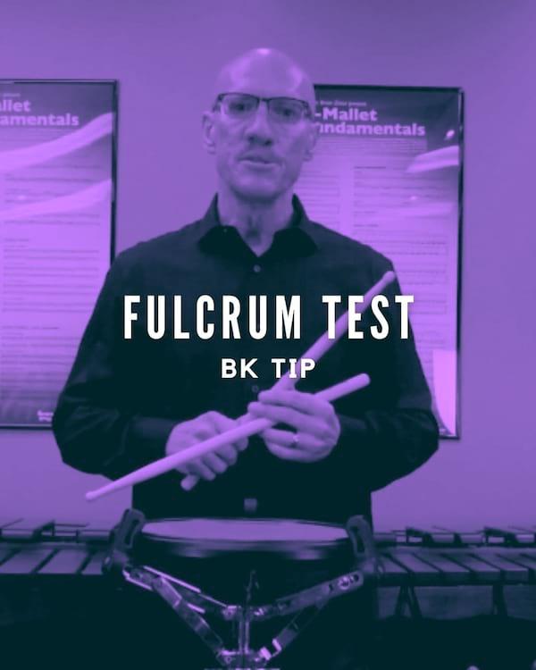 Fulcrum Test