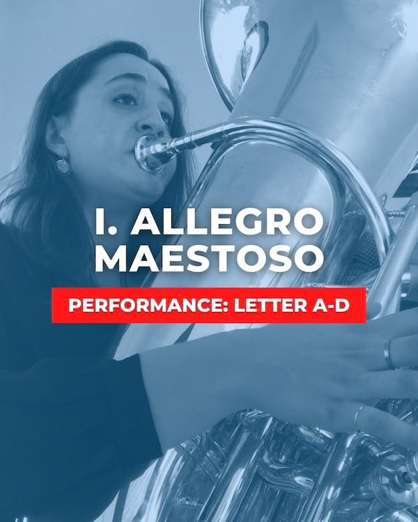 I. Allegro Maestoso