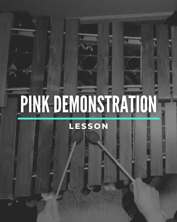 Pink Demonstration